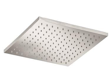 Tête de douche à effet pluie en acier inoxydable SO620   Tête de douche