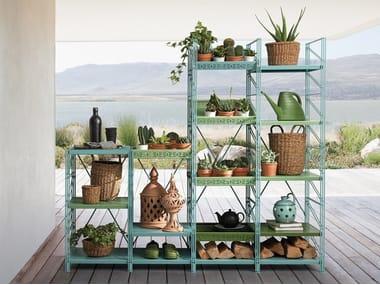 Metal garden cabinet SOCRATE OUTDOOR