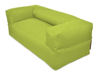 2 seater fabric sofa with removable cover SOFA MOOG OX