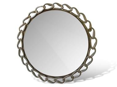 Round framed wall-mounted mirror SOFIA