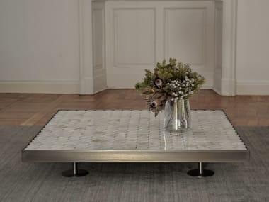 Tavolino basso in onice SOFIA