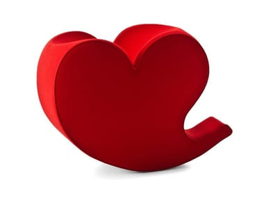 Poltrona in poliestere SOFT HEART
