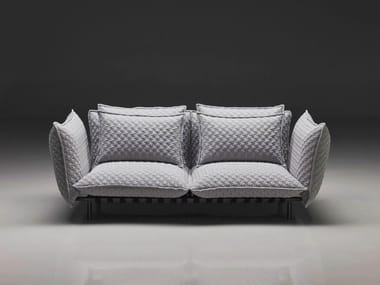 Fabric sofa with removable cover SOFT | Sofa