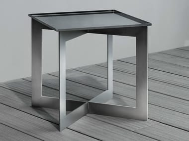 Square steel coffee table SOFT | Square coffee table