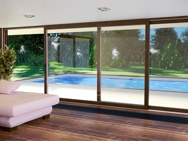 Wooden patio door SOFTLINE HS