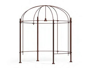 Brass gazebo with built-in lights SOKOLNIKI