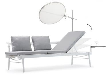 Batyline® garden sofa / sun lounger SOL+LUNA BOREALIS