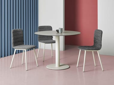 Round ceramic table SOL | Table