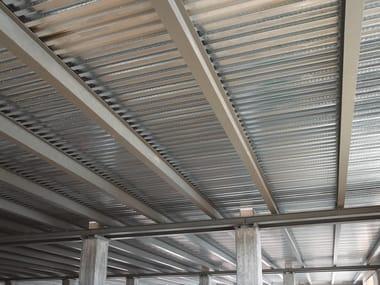 Solaio collaborante acciaio-calcestruzzo SOLAC® 75