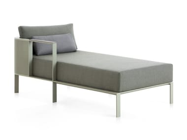 Upholstered fabric Garden daybed SOLANAS 2