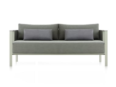 3 seater thermo lacquered aluminium sofa SOLANAS | 3 seater sofa