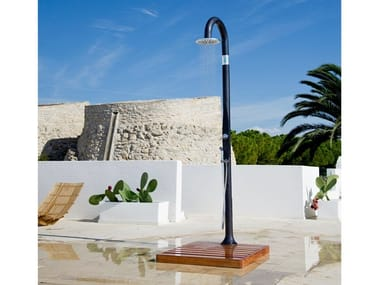 Solar resin outdoor shower SOLAR SHOWER