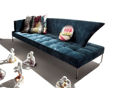 Fabric sofa SOLE LUNA