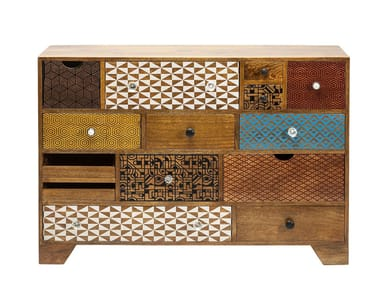 Wooden chest of drawers SOLEIL | Wooden chest of drawers