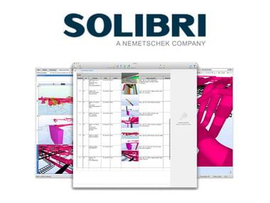 CAD-integrated quantity calculation software SOLIBRI