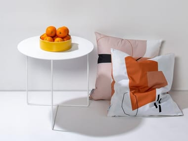 Tavolino rotondo in lamiera SOLID SIDE TABLE #01