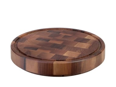 Round solid wood chopping board SOLID | Round chopping board