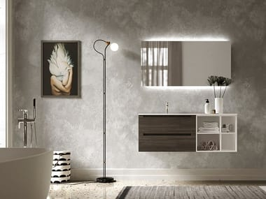 Bathroom furniture set SOLIGO