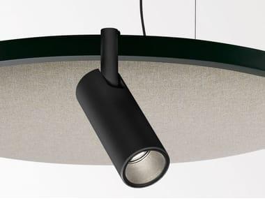 Acoustic pendant lamp SOLISCAPE 52 SHHH