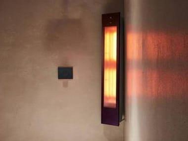 Doccia solare a raggi UV e infrarossi angolare SOLO | Black