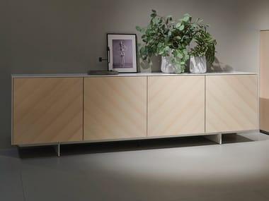 Oak sideboard with doors SOMA EDITION 2019 | Sideboard