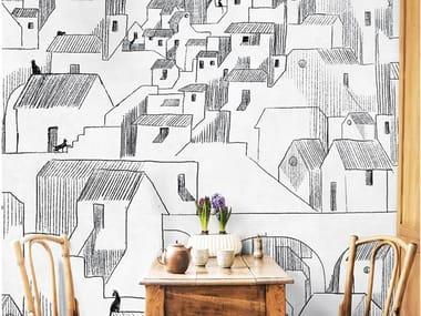 Papel de parede ecológico de tecido não tecido SOMEWHERE