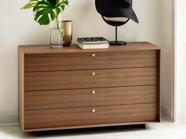 Walnut chest of drawers SONJA | Chest of drawers
