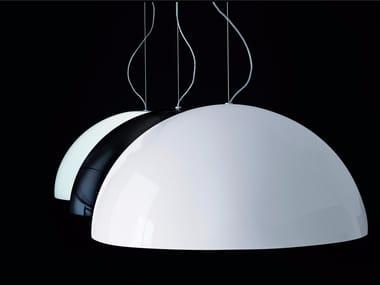 Direct light PMMA pendant lamp SONORA - 490/493