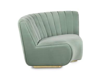 Corner sectional fabric sofa SOPHIA | Sectional sofa