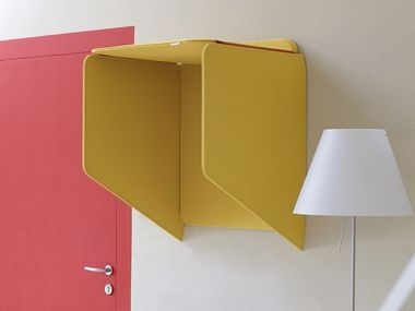 Acoustic wall-mounted phone booth SOPRANO