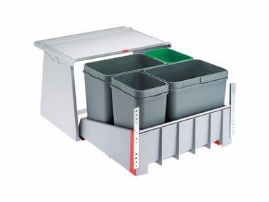 Waste bin for waste sorting SORTER 700 K 60