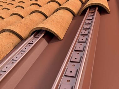 Metal under-tile system SOTTOCOPPO