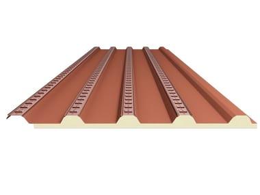 Steel under-tile system SOTTOCOPPO COIBENTATO