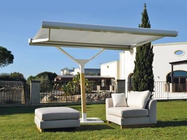 Adjustable offset Garden umbrella SOUBRETTE