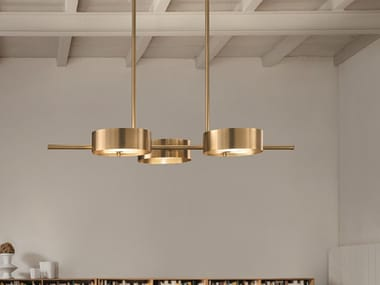 LED metal pendant lamp SOUND BIL3