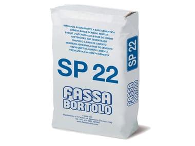 Rinzaffo a base cementizia per superfici in calcestruzzo SP 22