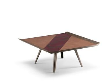 Tavolino quadrato da salotto SPACE INVADERS | Tavolino quadrato