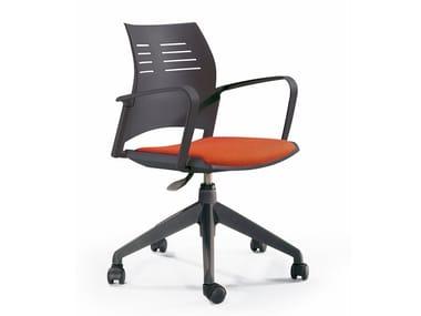 Chaise de bureau à roulettes SPACIO | Chaise de bureau
