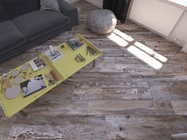Ceramic granite flooring with wood effect SPANISH WOOD