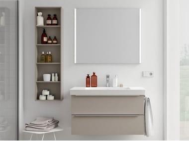 Mobili bagno con specchio SPAZIA 03