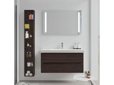 Mobili bagno con specchio SPAZIA 04
