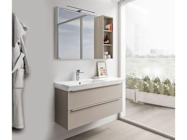 Mobili bagno con specchio SPAZIA 05