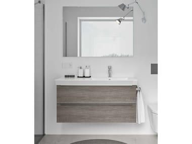 Mobili bagno con specchio SPAZIA 06