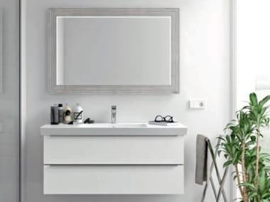 Mobili bagno con specchio SPAZIA 07