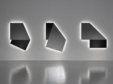 Specchio con illuminazione integrata da parete per bagno SPECCHIDICARTA