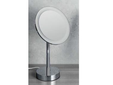 Specchio ingranditore d'appoggio con luce B9750 | Specchio ingranditore con illuminazione integrata