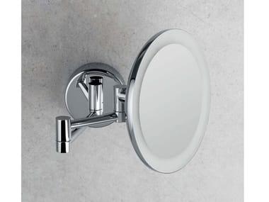 Specchio ingranditore a muro con luce B9751 | Specchio ingranditore con illuminazione integrata
