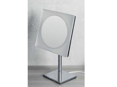 Specchio ingranditore d'appoggio con luce B9755 | Specchio ingranditore da appoggio