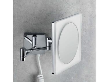 Specchio ingranditore a muro con luce B9756 | Specchio ingranditore con illuminazione integrata