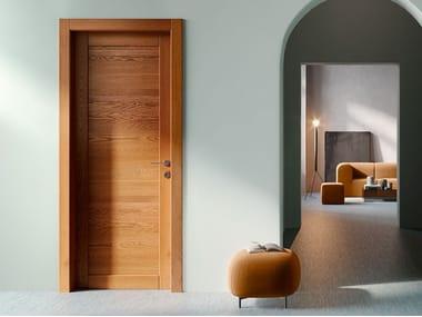 Porta a battente in legno in stile moderno con cerniere a scomparsa SPENIA